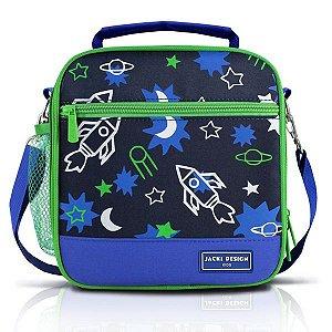 Jacki Design Lancheira Térmica Foguete Cor Azul
