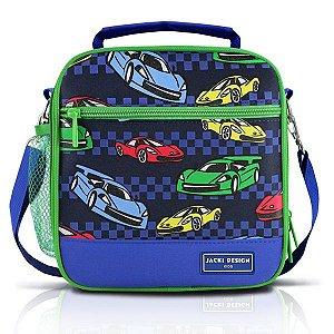 Jacki Design Lancheira Térmica Carro Cor Azul