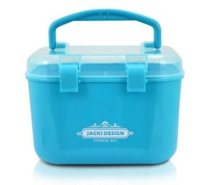 Jacki Design Caixa Organizadora P Cor Azul