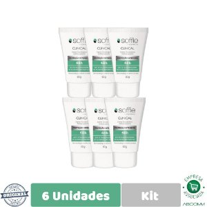 Soffie Kit Com 6 Clinical Desodorante Antitraspirante 60g