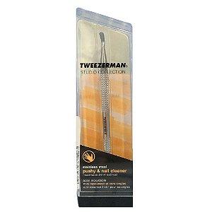 Tweezerman Puxador E Limpador de Cutícula de Aço Inox 3315
