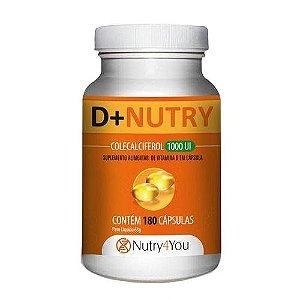D+Nutry Vitamina D com 180 Cápsulas