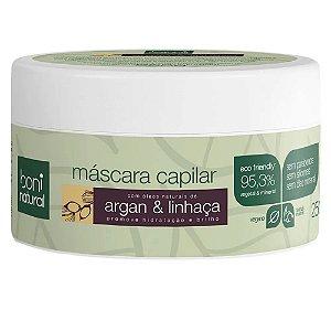 Boni Natural Máscara Capilar Argan e Linhaça 250g