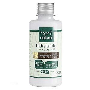 Boni Natural Hidratante Corporal Amêndoa e Lavanda 250ml