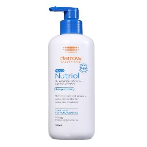 Darrow Nutriol Loção Hidratante Sem Perfume 400ml