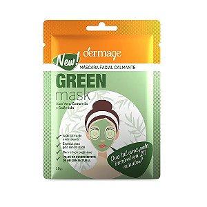 Dermage Green Mask Máscara Facial Calmante 10g