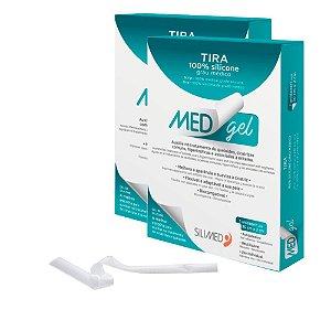 Medgel Kit com 2 Silimed Tira de Silicone 1 unidade