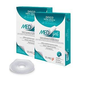 Medgel Kit com 2 Silimed Disco de Silicone com 2 unidades