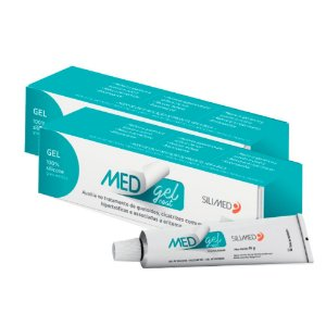 Medgel Kit com 2 Coat Silimed Gel de Silicone 15g