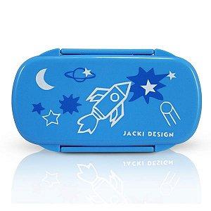 Jacki Design Pote Para Lanche Foguete Cor Azul Claro