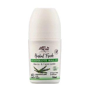 Arte Dos Aromas Desodorante Natural Roll On Alecrim & Capim Limão 50ml