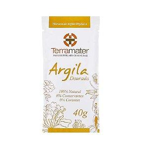 Terramater Argila Dourada Orgânica 40g