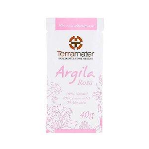 Terramater Argila Rosa Orgânica 40g
