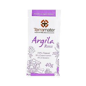 Terramater Argila Roxa Orgânica 40g
