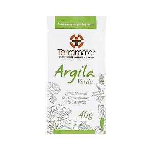 Terramater Argila Verde Orgânica 40g