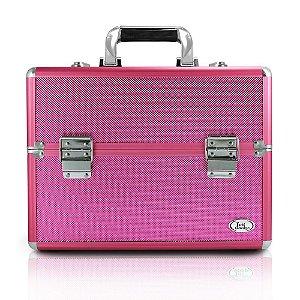 Jacki Design Maleta Profissional de Maquiagem G Pink