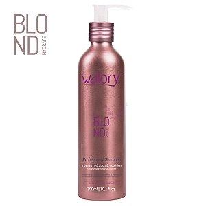 Walory Shampoo Professional Power Blond Hydrate 300ml