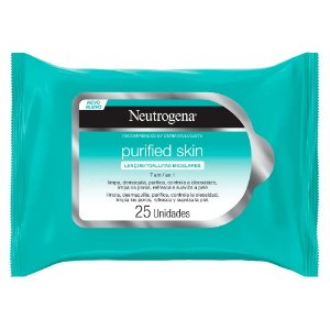 Neutrogena Lenço Micelar 7 Em 1 Purified Skin 25un