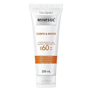Neostrata Minesol Protetor Corpo e Rosto FPS60 200ml