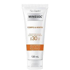 Neostrata Minesol Protetor Corpo e Rosto FPS30 120ml