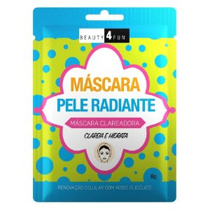 Beauty 4 Fun Máscara Pele Radiante Clareadora 8g