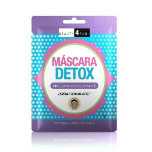 Beauty 4 Fun Máscara Revigorante Detox 8g