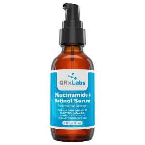 QRxLabs Sérum Niacinamide e Retinol Sérum 60ml