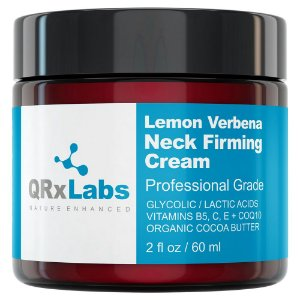 QRxLabs Lemon Verbena Neck Firming Cream 60ml
