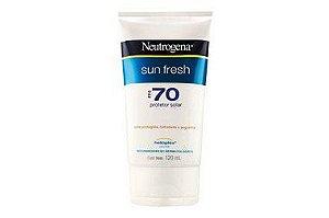 Neutrogena Sun Fresh FPS70 120ml (Validade 07/2020)