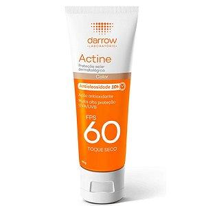 Darrow Actine Protetor Solar com cor Antioleosidade Fps60 40g