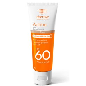 Darrow Actine Protetor Solar c/cor Antioleosidade Fps60 40g