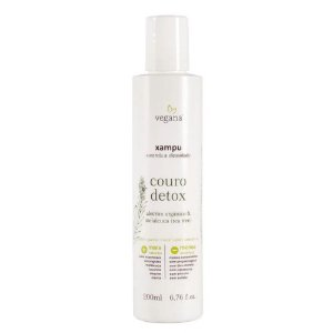 Vegana Xampu Couro Detox 200ml