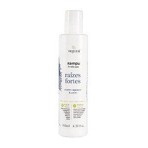 Vegana Xampu Raizes Fortes Alecrim 200ml