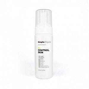 Simple Organic Espuma Facial Control Skin 150ml