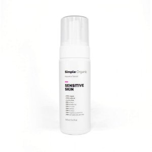 Simple Organic Espuma Facial Sensitive Skin 150ml
