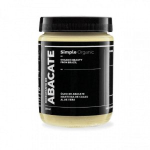 Simple Organic Hidratante Abacate 150ml