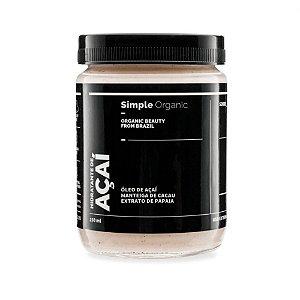 Simple Organic Hidratante Açaí 150ml