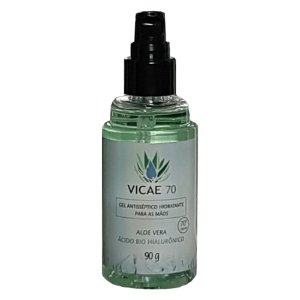 Vicae Gel Higienizante para as Mãos com Aloe Vera e Ácido Hialurônico 90g