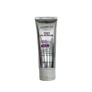 Ultimate Liss Fast Platinum Shampoo Matizador 80ml