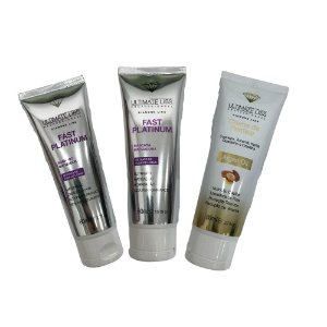 Ultimate Liss Kit Fast Platinum + Argan Oil 3x80ml