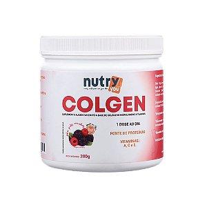 Nutry4You Colgen Frutas Vermelhas 200g