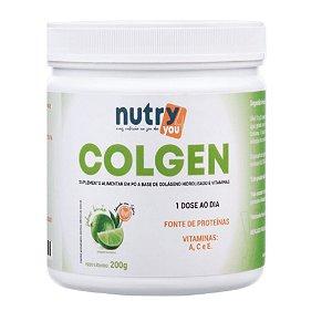 Nutry4You Colágeno Colgen Limão 200g