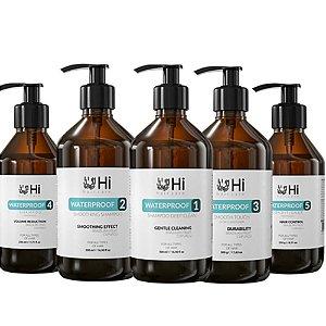 Hi Hair Care Kit Completo Waterproof  5 Passos