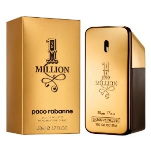 Paco Rabanne 1 Million Perfume Masculino Eau de Toilette 50ml