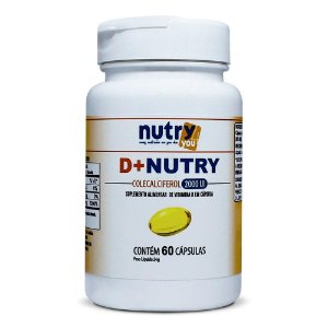 Nutry4You Vitamina D+Nutry 2.000UI 60 Cápsulas