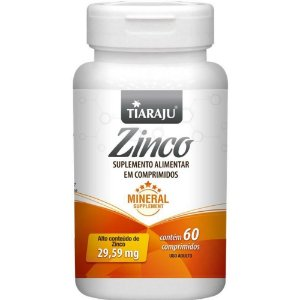 Tiaraju Zinco 29 59mg 60 Comprimidos