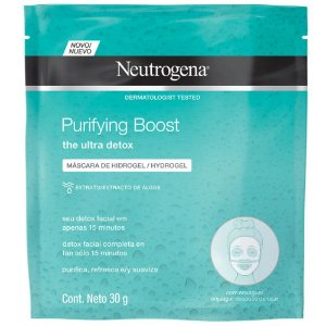 Neutrogena Purifying Boost Máscara Purificadora Hidrogel 30g