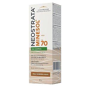 Neostrata Minesol Oil Control Protetor Solar Pele Morena Mais FPS70 40g