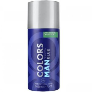 Benetton Colors Blue Desodorante Masculino 150ml