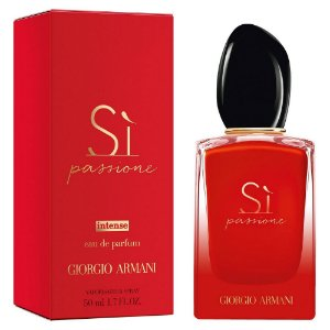Giorgio Armani Sì Passione Intense Perfume Feminino Eau de Parfum 50ml